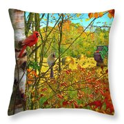 Hoping For Leftovers Throw Pillow