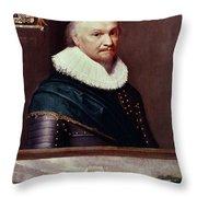Horace Vere (1565-1635) Throw Pillow