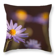 Horay Spine Aster Throw Pillow