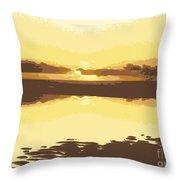 Horizon 2 Throw Pillow