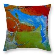 Horizon 43 Throw Pillow