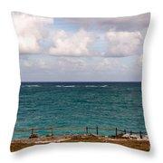 Horizon At Tulum Throw Pillow