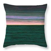 Horizon   Number 1 Throw Pillow