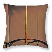 Horn Of The Unicorn Throw Pillow