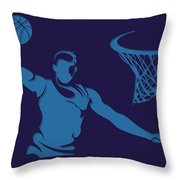Hornets Shadow Player2 Throw Pillow