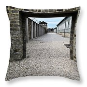 Horror Of History Throw Pillow