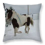 Horse 03 Throw Pillow
