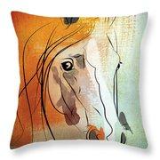 Horse 3 Throw Pillow