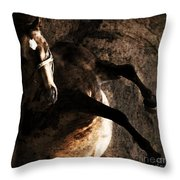 Horse Art Throw Pillow