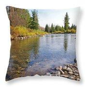 Horse Creek Wy Throw Pillow