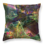 Horse Feathers - Square Version Throw Pillow