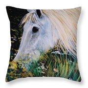 Horse Ign Throw Pillow