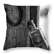 Horse Shoes And Tonic Throw Pillow