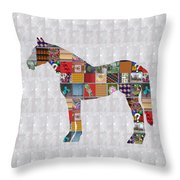 Horse Showcasing Navinjoshi Gallery Art Icons Buy Faa Products Or Download For Self Printing  Navin  Throw Pillow