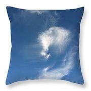 Horse Spirit Cloud Throw Pillow