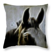 Horse Whispers Throw Pillow