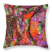 Horseman Cometh Throw Pillow