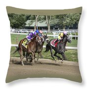 Horses Can Fly Throw Pillow