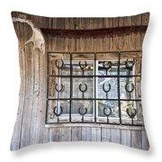Horseshoe Art Throw Pillow