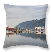 Horseshoe Bay Vancouver Bc Canada Throw Pillow