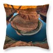 Horseshoe Bend In The Morning Throw Pillow