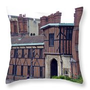 Horseshoe Cloisters Windsor Throw Pillow