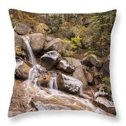 Horsethief Falls - Cripple Creek Colorado Throw Pillow