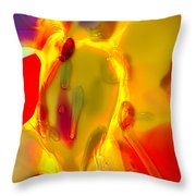 Horsing Around Throw Pillow