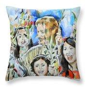 Hosanna Rome Throw Pillow