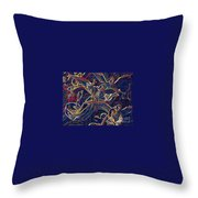 Host Of Angels By Jrr Throw Pillow