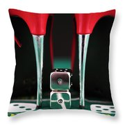 Hot Aces Throw Pillow