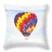 Hot Air Balloon 05 Throw Pillow