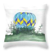 Hot Air Balloon 09 Throw Pillow