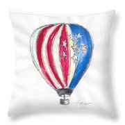 Hot Air Balloon Misc 01 Throw Pillow