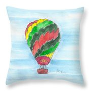 Hot Air Balloon Misc 03 Throw Pillow