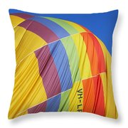 Hot Air Ballooning 2am-110966 Throw Pillow