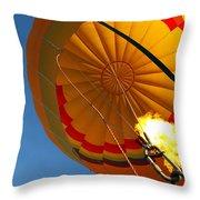 Hot Air Ballooning 2am-29241 Throw Pillow
