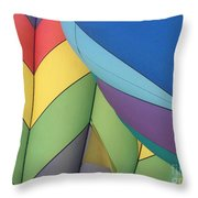 Hot Air Balloons 3 Throw Pillow