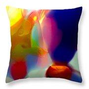 Hot Air Baloons Throw Pillow