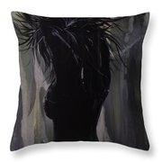 Hot And Cold Throw Pillow
