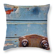 Hot And Cold Throw Pillow by Heidi Smith