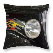 Hot And Ready Throw Pillow