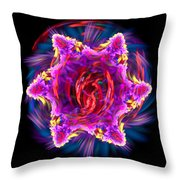Hot Attraction Throw Pillow
