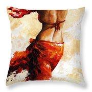 Hot Breeze 03 Throw Pillow