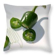 Hot Chili Pepper Throw Pillow