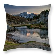 Hot Creek Throw Pillow