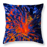 Hot Dropped Into The Cold Throw Pillow