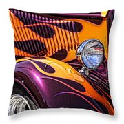Hot Ford Throw Pillow