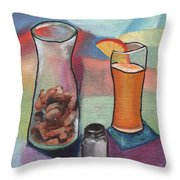 Hot Inside N Out Throw Pillow