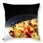 Hot Lunch Throw Pillow